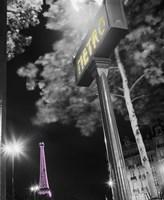 Paris Metro Pop Fine Art Print