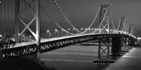 Oakland Bridge 2 BW Fine Art Print