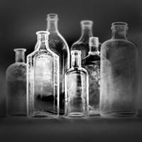 7 Botellas 1 INV Fine Art Print