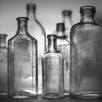 7 Botellas 3 Fine Art Print