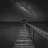 Milky Way in Florida 2 Fine Art Print