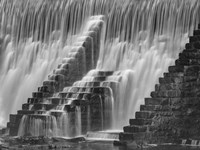 Stairs on Water Fine Art Print