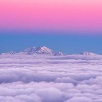 Pink In the Sky Fine Art Print