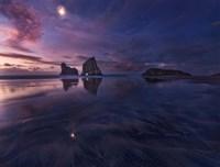 Golden Bay When Night Falls Fine Art Print