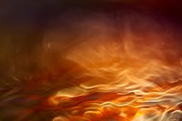 Burning Water Fine Art Print