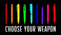 Choose Your Weapon - Rainbow Fine Art Print
