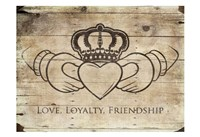 Love Loyalty Friendship Fine Art Print