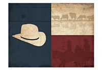 Texas Hat Fine Art Print