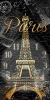 Paris Eiffel Time Fine Art Print