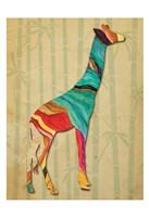 Safari Stripes 1 Framed Print