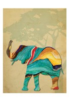 Safari Stripes 2 Framed Print