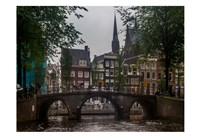 Amsterdam Bridge Fine Art Print