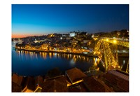 Portugal Porto Bridge Fine Art Print