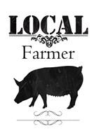 Local Farmer Framed Print