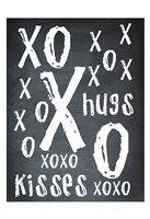 Hugs and Kisses BW Fine Art Print