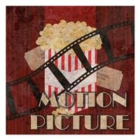 Motion Picture Fine Art Print