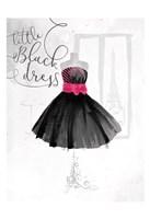 Little Black Dress Fine Art Print