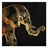 Patterned Elephant Fine Art Print