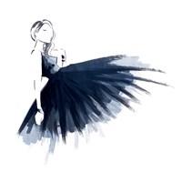 Blue Attitude Fine Art Print