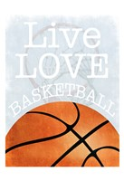 Basketball Love Fine Art Print