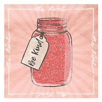 Jar Of Kindness Fine Art Print