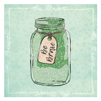Jar Of Bravery Fine Art Print