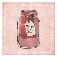 Jar Of Boldness Fine Art Print