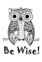 Be Wise Owl Fine Art Print