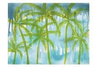 Rainy Paradise Fine Art Print