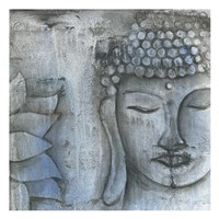 Stone Buddha Fine Art Print
