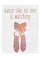 Dance A Framed Print