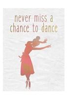 Dance B Framed Print