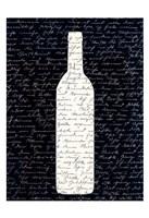 Wine on Black 2 Fine Art Print