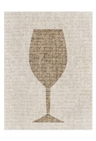 Linen Wine 1 Fine Art Print