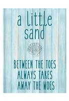 The Sand Framed Print