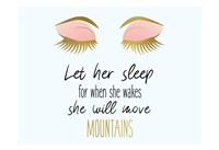Let her Sleep Fine Art Print