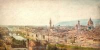 Florence View Fine Art Print