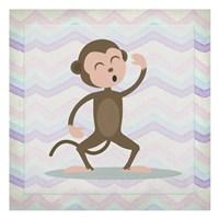 Pink Monkey Time Fine Art Print