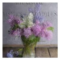 Lilacs Fine Art Print