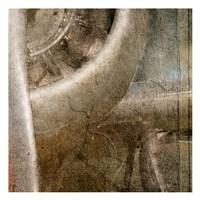 Propeller D Framed Print