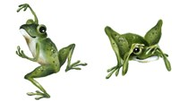 April Showers - Frogs Fine Art Print