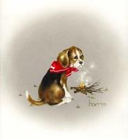 Beagle Scout Fine Art Print