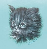 Black Kitten - 23A Fine Art Print