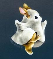 Boo Bunny's Big Night Fine Art Print