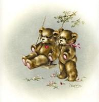 Teddy Bear's Picnic  II Fine Art Print
