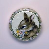 Bunny Circle II Fine Art Print