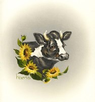 I Only Have Eyes For Moo Fine Art Print