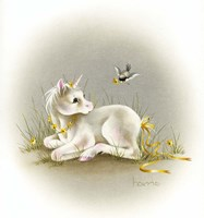 Baby Unicorn Fine Art Print