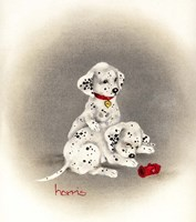 Dalmation 2 - Curiosity Fine Art Print