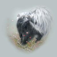 Love Is In The Air - Skunk Fine Art Print